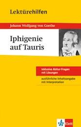 Klett Lektürehilfen Johann W. von Goethe, Iphigenie auf Tauris