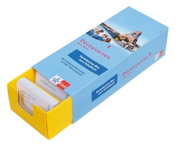 Découvertes 1 Série bleue - Vokabel-Lernbox zum Schülerbuch