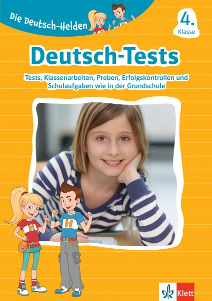 Klett Die Deutsch-Helden: Deutsch-Tests 4. Klasse