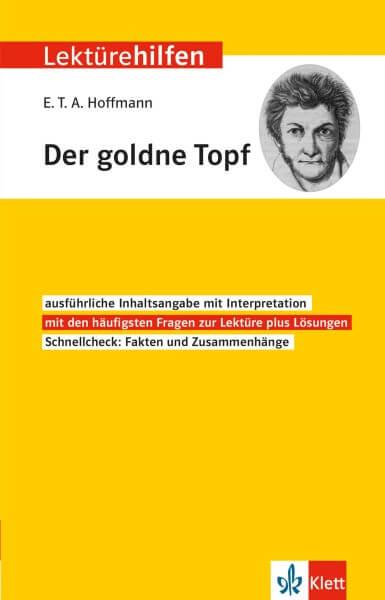 Klett Lektürehilfen E.T.A. Hoffmann, Der goldne Topf