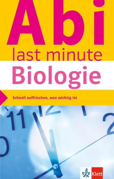 Klett Abi last minute Biologie