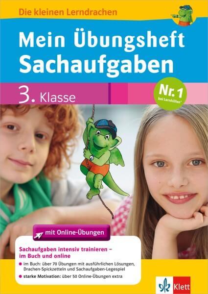 Klett Mein Übungsheft Sachaufgaben Mathematik 3. Klasse