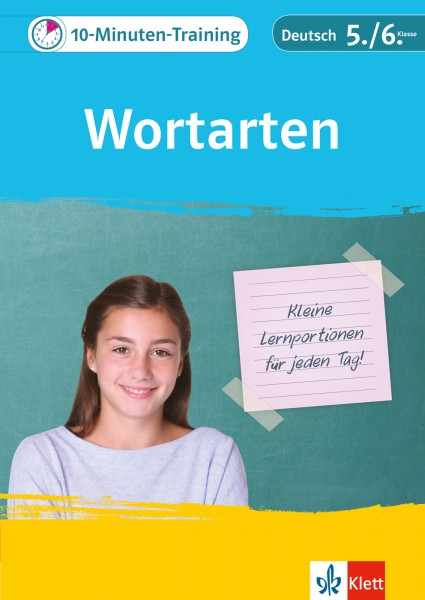 Klett 10-Minuten-Training Deutsch Wortarten 5./6. Klasse