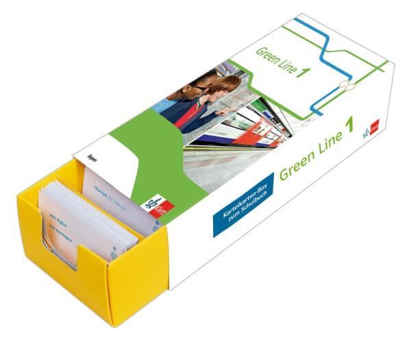 Green Line 1 Bayern Klasse 5 Vokabel-Lernbox zum Schulbuch