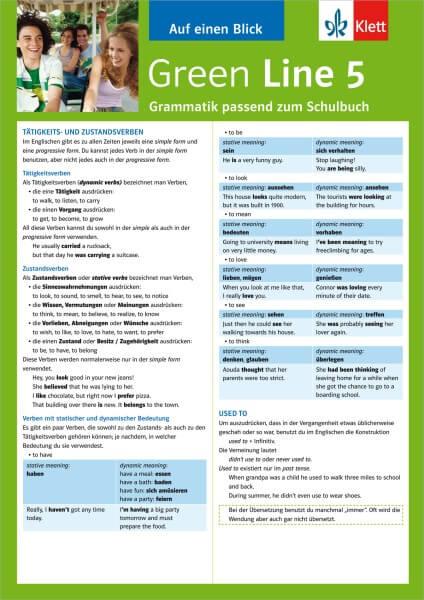 Green Line 5 - Auf einen Blick