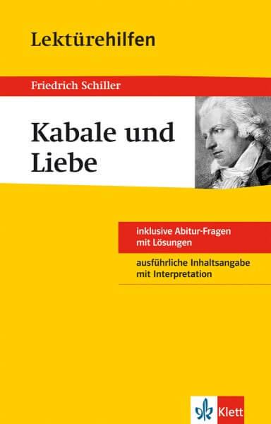 Klett Lektürehilfen Friedrich Schiller, Kabale und Liebe
