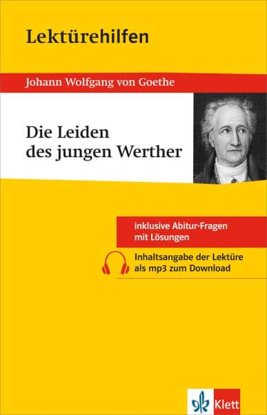 Klett Lektürehilfen Johann W. von Goethe, Die Leiden des jungen Werther