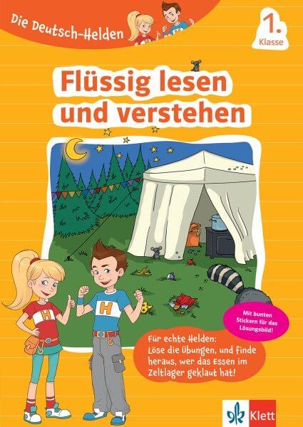 Klett Die Deutsch-Helden Flüssig lesen und verstehen 1. Klasse