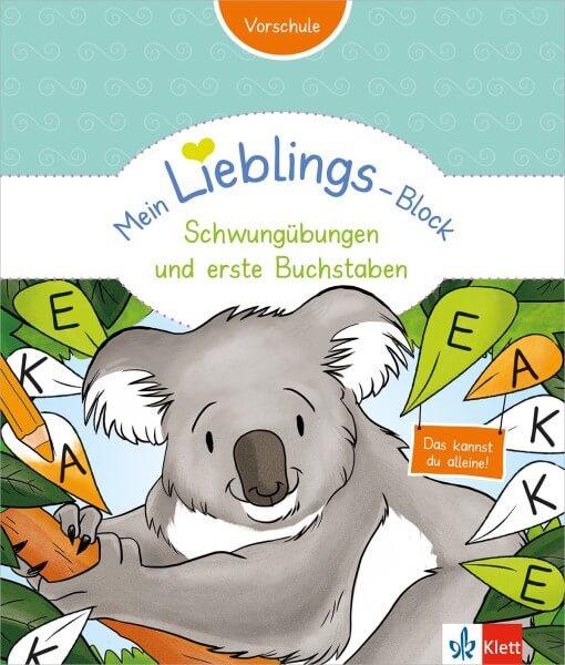 Klett Mein Lieblings-Block Schwungübungen und erste Buchstaben