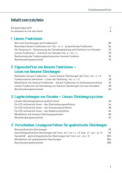 Klett Ich kann Mathe Lineare und quadratische Funktionen und Gleichungen 7. - 10. Klasse