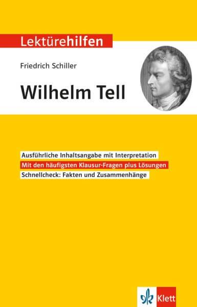 Klett Lektürehilfen Friedrich Schiller, Wilhelm Tell