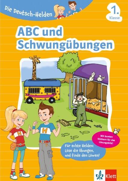 Die Deutsch-Helden ABC und Schwungübungen 1. Klasse