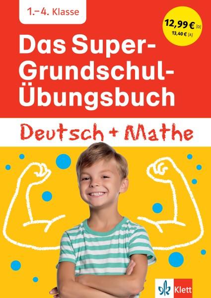 Klett Das Super-Grundschul-Übungsbuch Deutsch und Mathematik 1. - 4. Klasse
