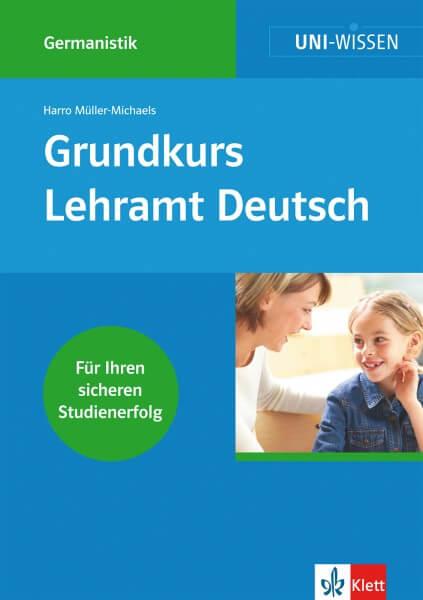 Klett Uni Wissen Grundkurs Lehramt Deutsch