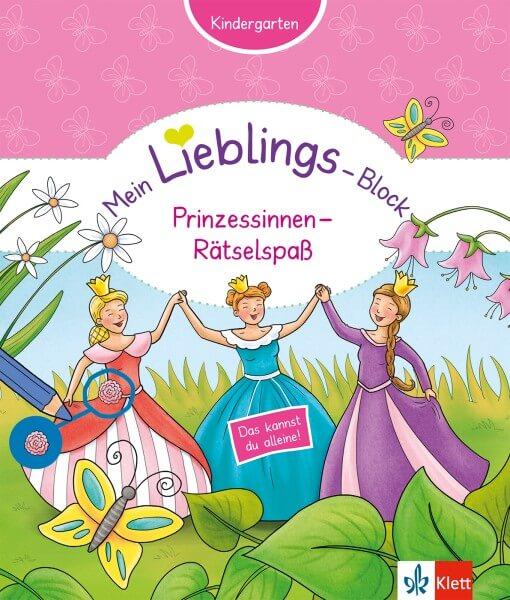 Klett Mein Lieblings-Block Prinzessinnen-Rätselspaß