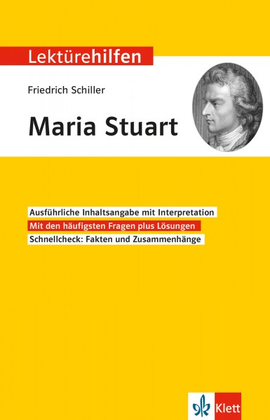 Klett Lektürehilfen Friedrich Schiller, Maria Stuart