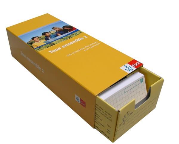 Tous Ensemble 2 - Vokabel-Lernbox zum Schülerbuch