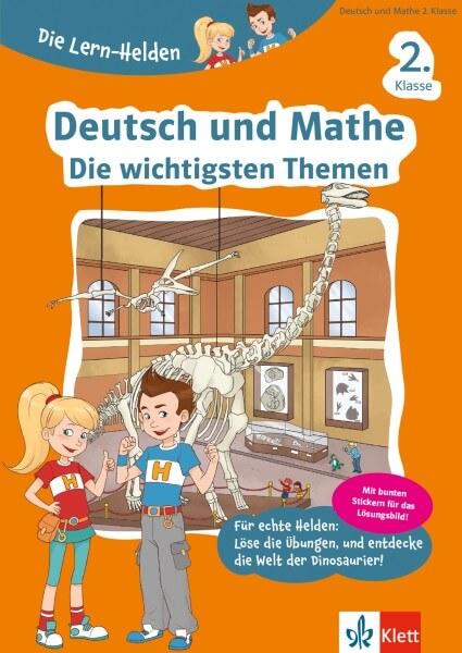 Klett Die Lern-Helden Deutsch und Mathe - Die wichtigsten Themen 2. Klasse