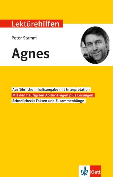 Klett Lektürehilfen Peter Stamm, Agnes