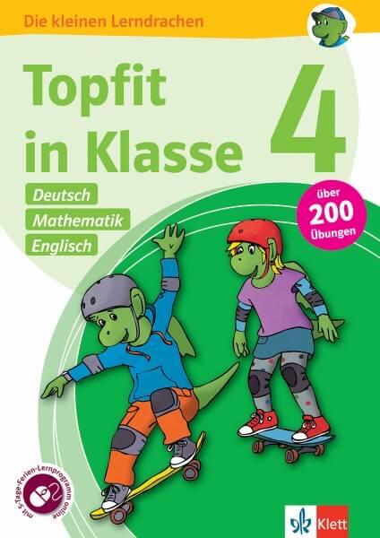 Klett Topfit in Klasse 4 - Deutsch, Mathematik und Englisch