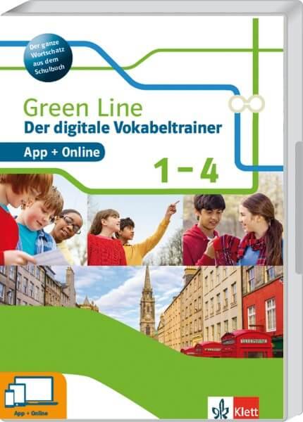 Vokabeltrainer Green Line 1-4