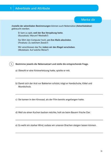 Klett Sicher durch die 6. Klasse - Deutsch, Mathematik, Englisch