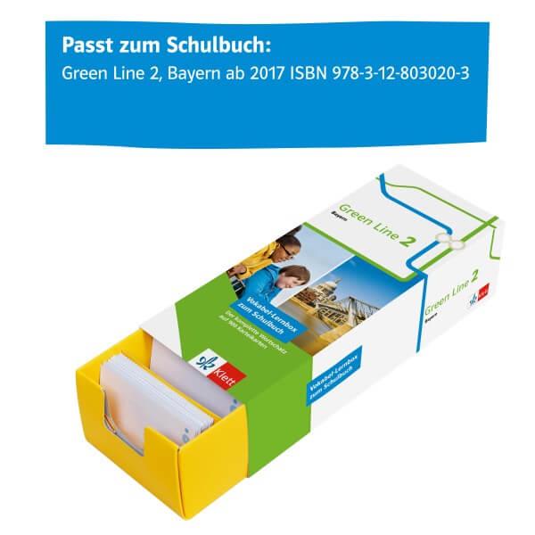 Green Line 2 Bayern Klasse 6 Vokabel-Lernbox zum Schulbuch