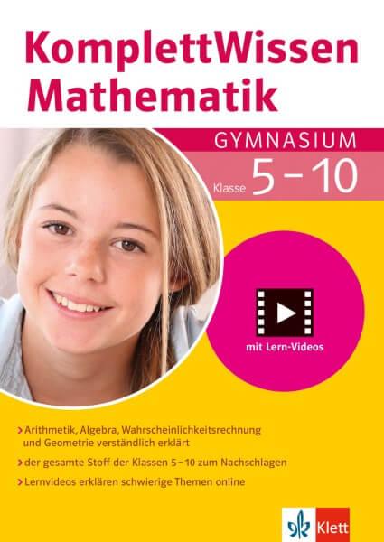 Komplett Wissen Mathematik Gymnasium
