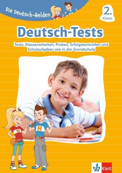 Klett Die Deutsch-Helden: Deutsch-Tests 2. Klasse