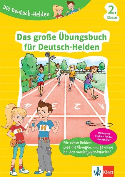 Klett Die Deutsch-Helden Das große Übungsbuch für Deutsch-Helden 2. Klasse