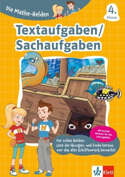 Klett Die Mathe-Helden Textaufgaben / Sachaufgaben 4. Klasse