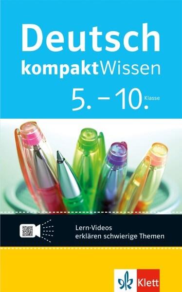 Klett kompaktWissen Deutsch 5.-10. Klasse