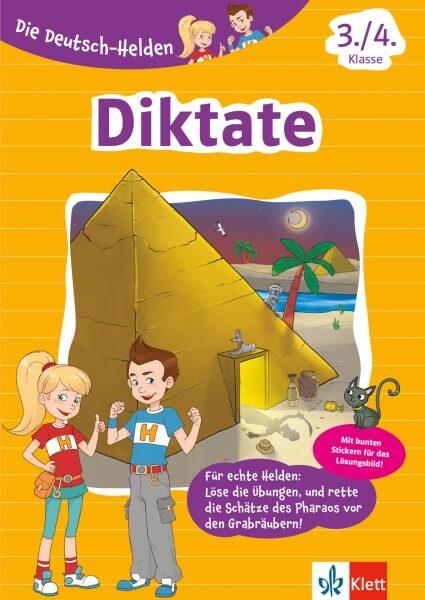 Klett Die Deutsch-Helden Diktate 3./4. Klasse
