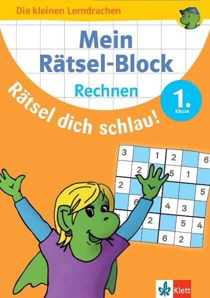 Klett Mein Rätsel-Block Rätsel dich schlau! Rechnen 1.Klasse