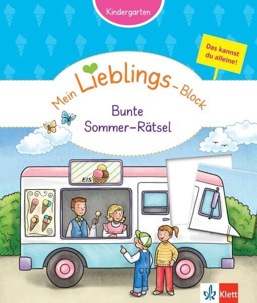 Klett Mein Lieblings-Block Bunte Sommer-Rätsel