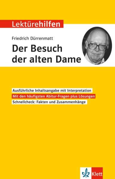 Klett Lektürehilfen Friedrich Dürrenmatt, Der Besuch der alten Dame