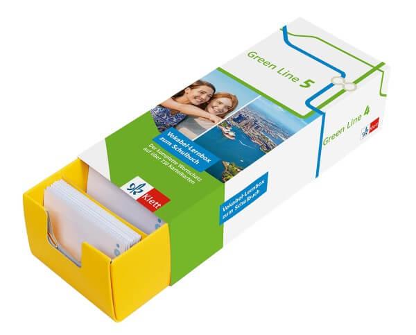 Klett Green Line 5 G8 Klasse 9 Vokabel-Lernbox zum Schulbuch