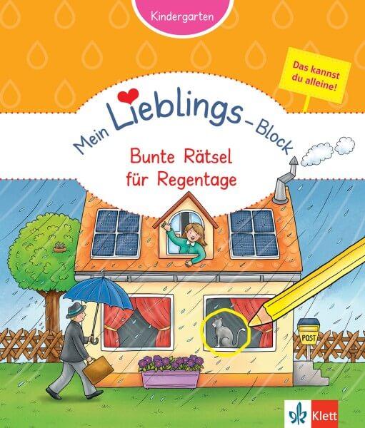 Klett Mein Lieblings-Block Bunte Rätsel für Regentage