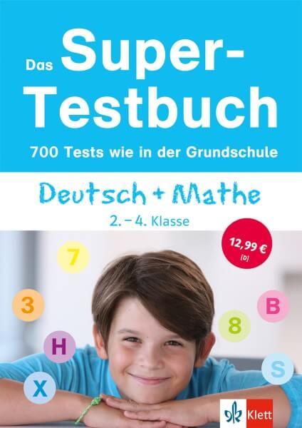 Das Super-Testbuch - 700 Tests wie in der Grundschule