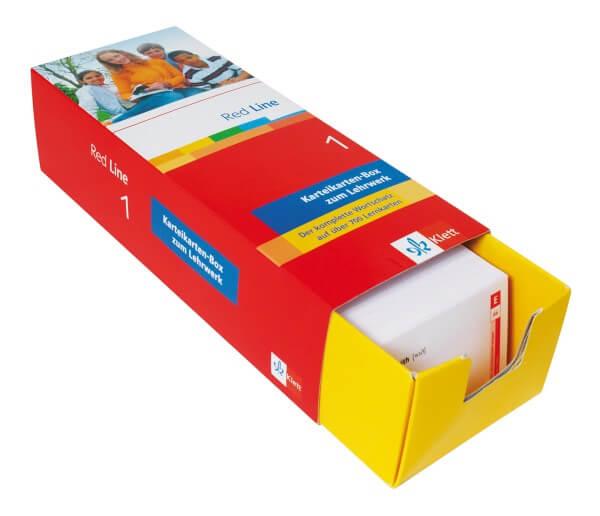 Red Line 1 - Vokabel-Lernbox zum Schülerbuch