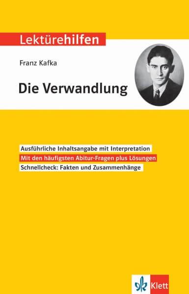 Klett Lektürehilfen Franz Kafka, Die Verwandlung