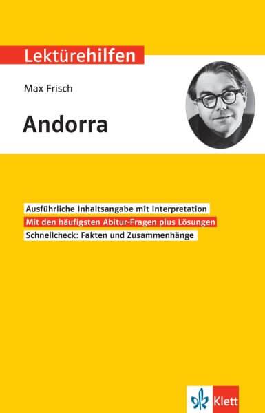 Klett Lektürehilfen Max Frisch, Andorra