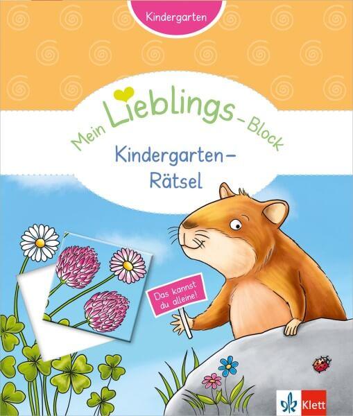 Klett Mein Lieblings-Block Kindergarten-Rätsel