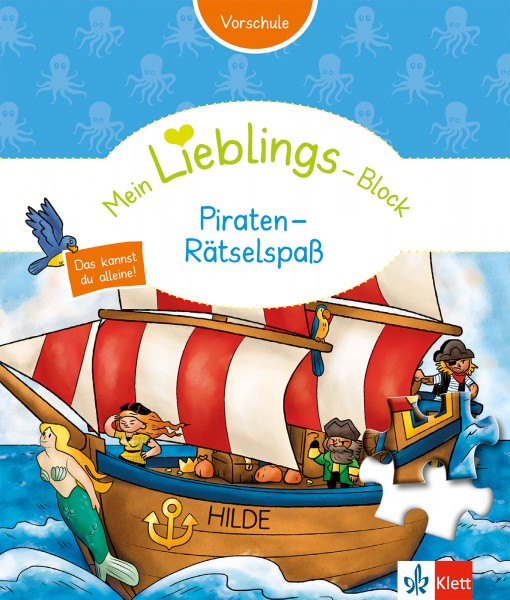 Klett Mein Lieblings-Block Piraten-Rätselspaß