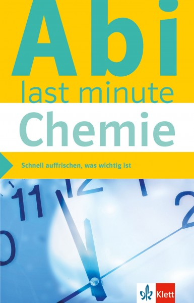Klett Abi last minute Chemie