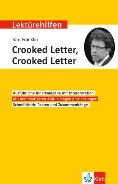 Klett Lektürehilfen Franklin, Crooked Letter, Crooked Letter