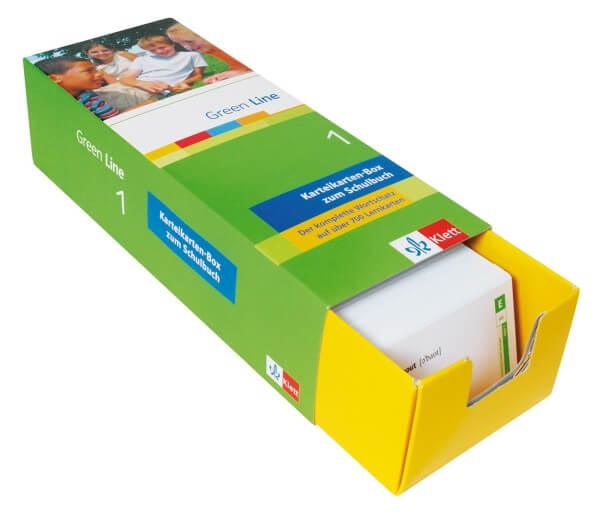 Green Line 1 - Vokabel-Lernbox zum Schülerbuch