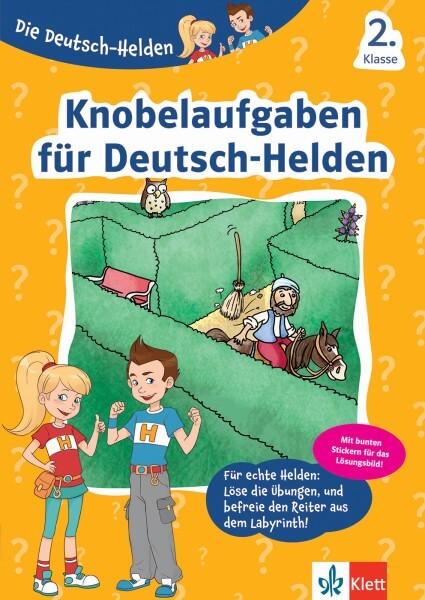 Klett Die Deutsch-Helden Knobelaufgaben für Deutsch-Helden 2. Klasse