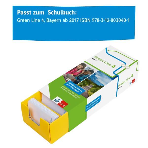 Klett Green Line 4 Bayern Klasse 8 Vokabel-Lernbox zum Schulbuch
