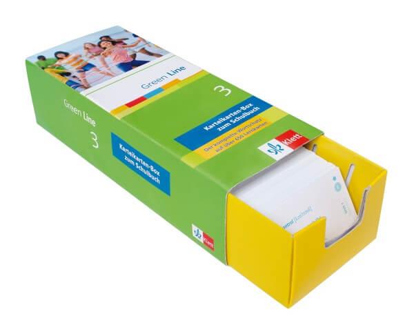 Green Line 3 - Vokabel-Lernbox zum Schülerbuch